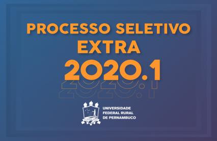 UFRPE divulga resultado final do Processo Seletivo Extra 2020.1